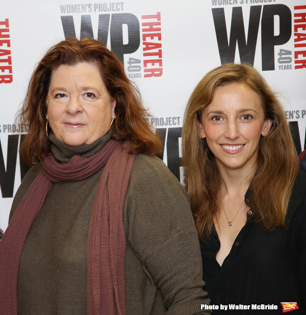 Theresa Rebeck and Adrienne Campbell-Holt