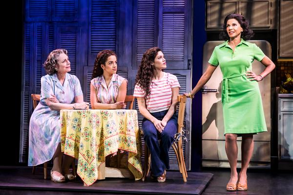 Alma Cuervo, Claudia Yanez, Christie Prades, and Nancy Ticotin