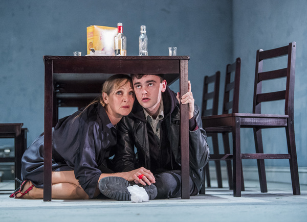 Lesley Sharp and Brian Vernel
