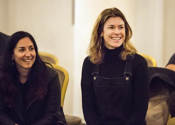 Natasha Khamjani and Anna Ledwich