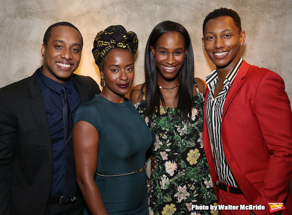 Hampton Fluker, Eboni Flowers Nneka Okafor, and Brandon Gill  Photo
