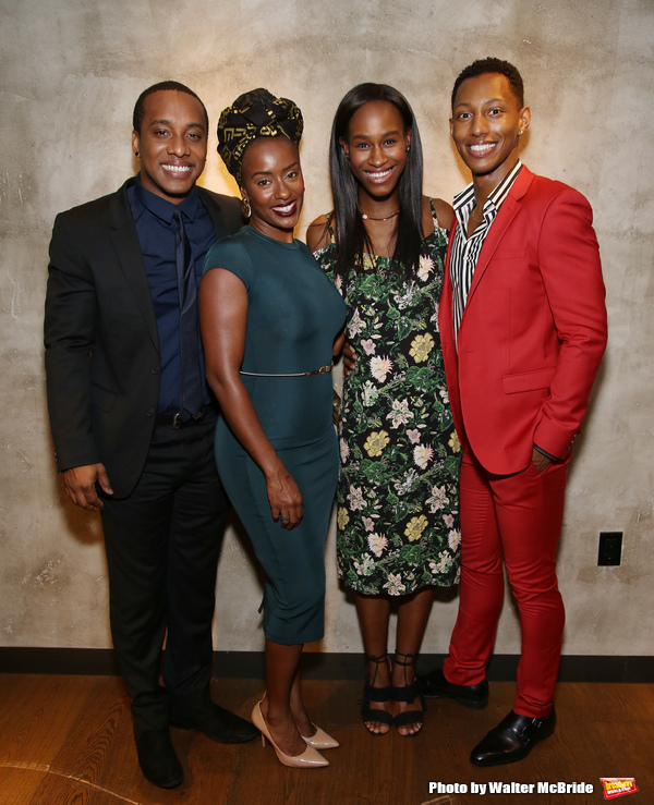 Hampton Fluker, Eboni Flowers Nneka Okafor, and Brandon Gill