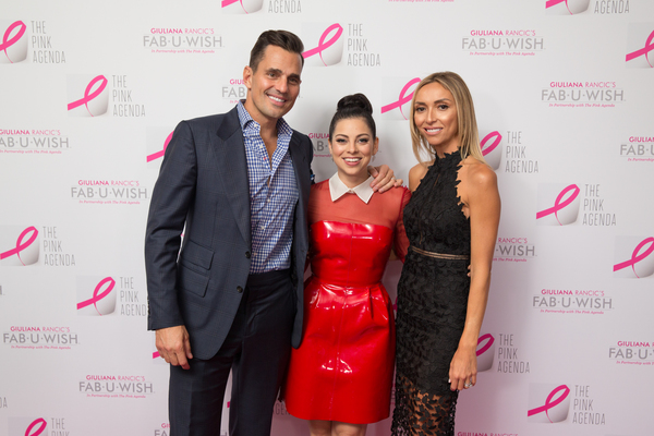Bill Rancic, Krysta Rodriguez and Giuliana Rancic