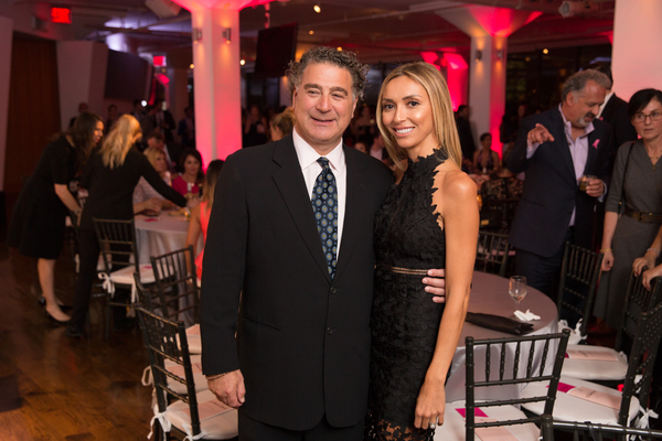 Irwin Simon and Giuliana Rancic