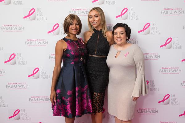 Larissa Podermanski, Giuliana Rancic and Fab-U-Wish Recipient Leslie