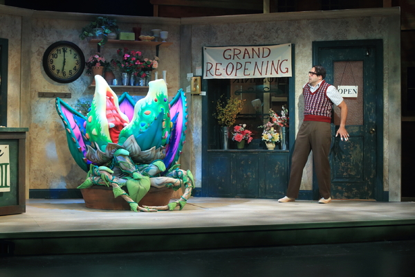 Photo Flash: First Look at LITTLE SHOP OF HORRORS at Flat Rock Playhouse