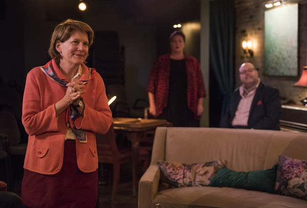 Photo Flash: First Look at EVENING AT THE TALK HOUSE at A Red Orchid Theatre