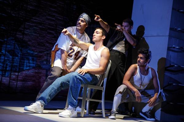 Joel Perez, Juan Castano, Brian Quijada and Reza Salazar Photo
