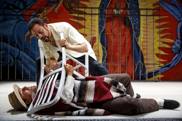 Photo Flash: First Look at OEDIPUS EL REY at The Public Theater
