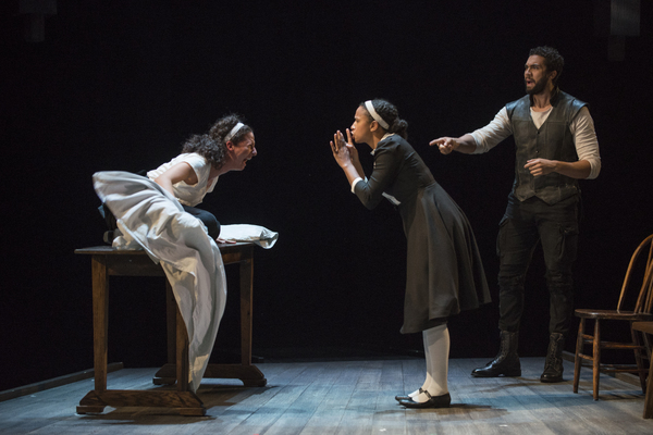 The cast of THE CRUCIBLE at Steppenwolf Theatre Company