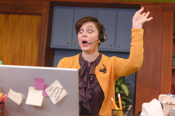 Photo Flash: First Look at Circle Theatre's Hilarious APPLICATION PENDING