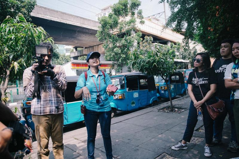 Walking Tour and Script Discussion with 3 Figures Behind the Scene of PEREMPUAN-PEREMPUAN CHAIRIL