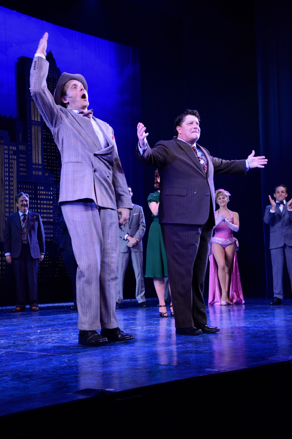 Photo Coverage: THE HONEYMOONERS Takes Opening Night Bows at Paper Mill Playhouse