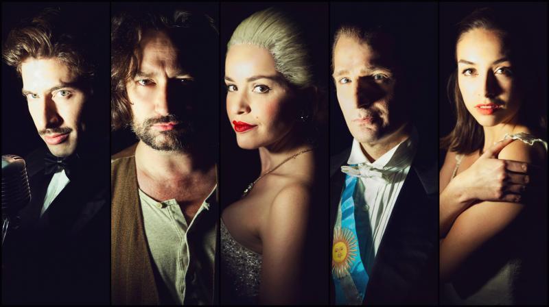 Photo Flash: North Shore's EVITA Stars Pose for Cast Portraits!