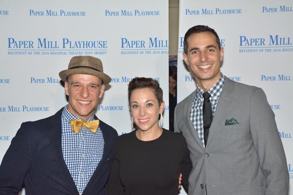 Ryan Kasprzak, Allison Solomon and Drew King