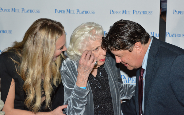 Photo Coverage: Leslie Kritzer, Laura Bell Bundy & the Cast of THE HONEYMOONERS Celebrate Opening Night!