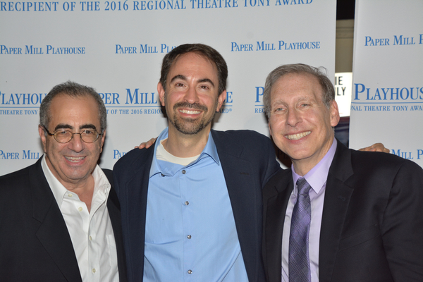 Bill Nuss, Peter Mills and Stephen Weiner