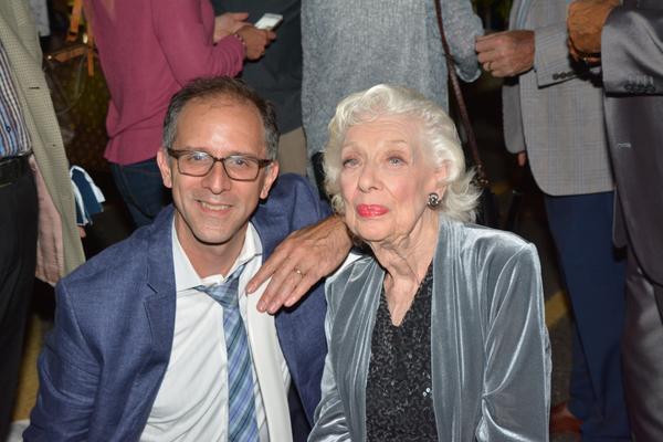 John Rando and Joyce Randolph