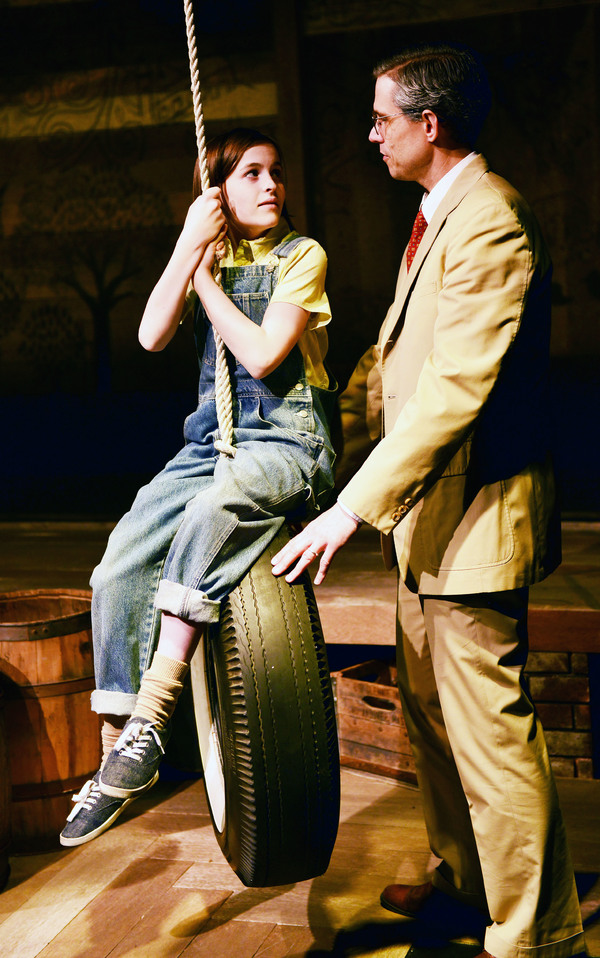 Scout: Carly Williams & Atticus Finch: Lewis D. Wheeler