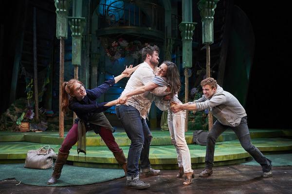 The lovers (actor, Keri Rene Fuller*, Jon Loya*, Michelle Pauker and Corey Mach*) fig Photo