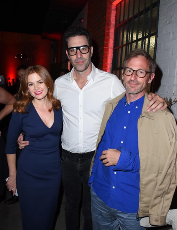 Isla Fisher and Sacha Baron Cohen, Spike Jonze