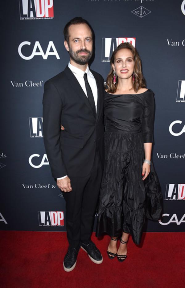 Benjamin Millepied and Natalie Portman Photo