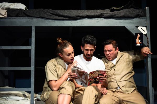 Evie Riojas, Aaron Sanchez and Kyle Encinas