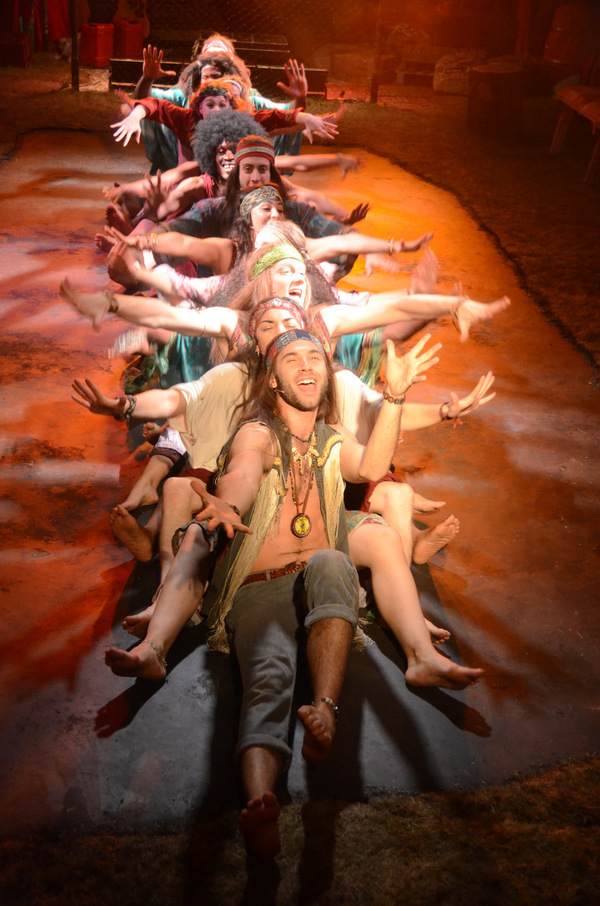 Photo Flash: First Look At The 50th Anniversary Production of HAIR at The Vaults!