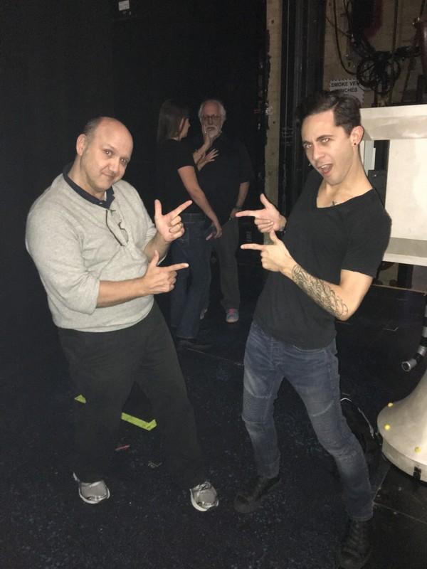 Paris Themman and Michael Wartella