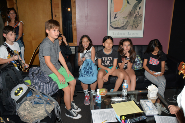 Cory Logan, John Allyn, Ruth Righi, Ellie Kim, Sophia Kekllas and Olivia Chun