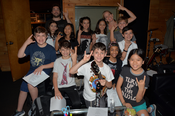 From the Cast of School of Rock-Justin Collette, Becky Gulsvig, Michael Cascetta, Cor Photo