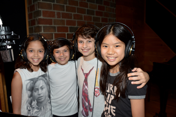 Ruth Righi, Levi Buksbazen, Zachary Zwelling and Ellie Kim