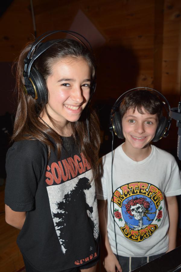 Sophia Kekllas and Cory Logan