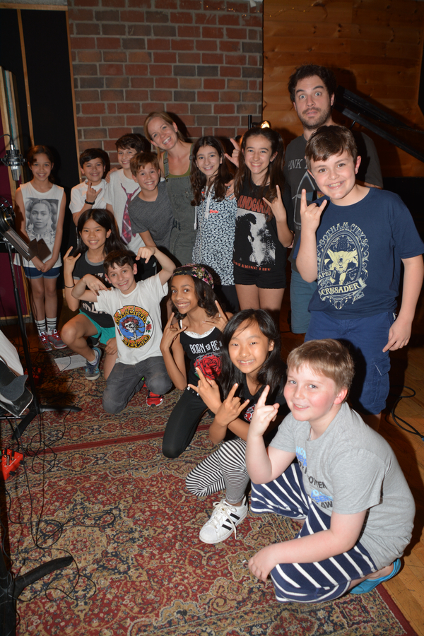 From the Cast of School of Rock-Justin Collette, Becky Gulsvig, Michael Cascetta, Cory Logan, Gabrielle Greene, Ellie Kin, Ruth Right, Sophia Kekllas, Olivia Chun, John Allyn, Levi Buksbazen, Zachary Zwelling, Rachel Katzke and Walden Sullivan