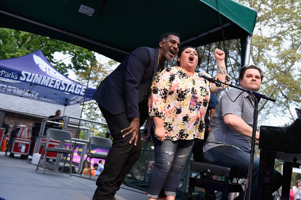 Norm Lewis and Keala Settle