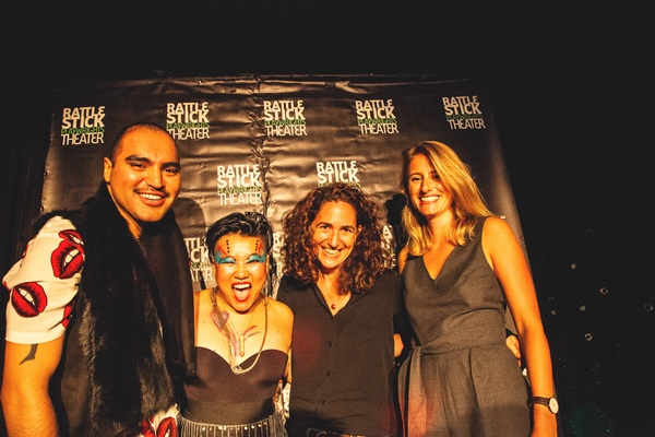 Victor Cervantes, Diana Oh, Daniella Topol, and Annie Middleton