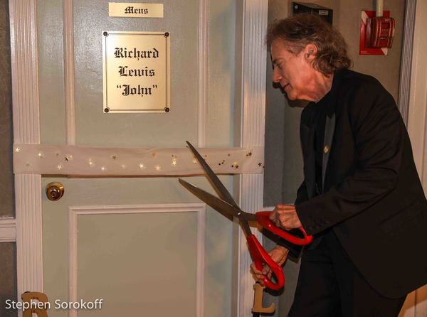 Photo Coverage: Comic Richard Lewis Has Room Named After Him by the Friars