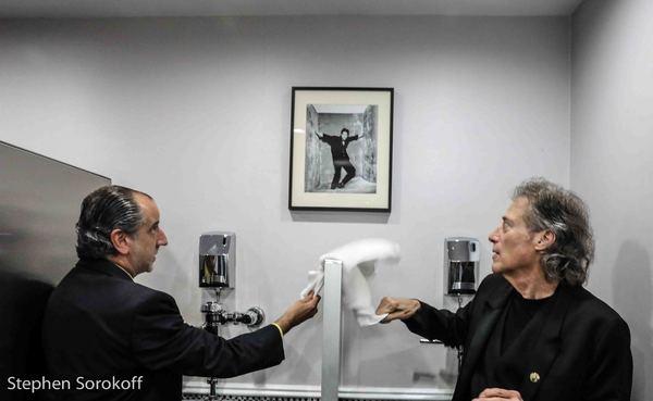 Bob Sipotto & Richard Lewis Photo