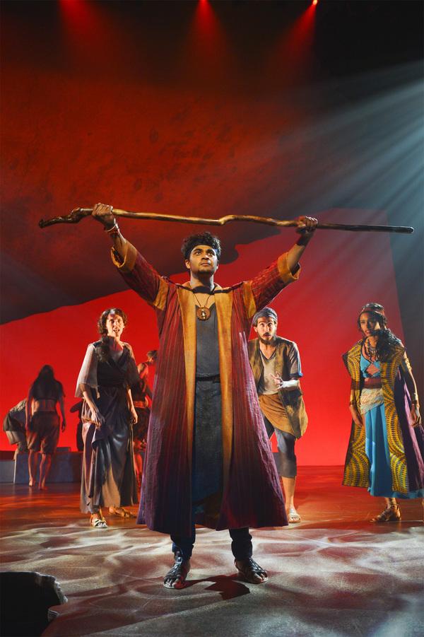 Julia Motyka, Diluckshan Jeyaratnam, David Crane and Brennyn Lark Photo