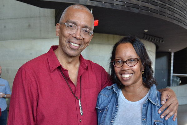 Timothy Douglas and Playwright Christina Ham Photo
