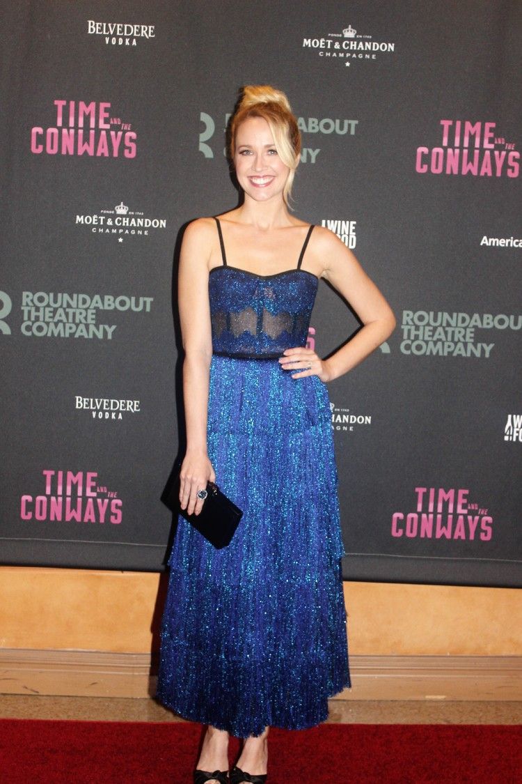 Photo Coverage: Elizabeth McGovern & the Company of TIME AND THE CONWAYS Celebrate Opening Night!