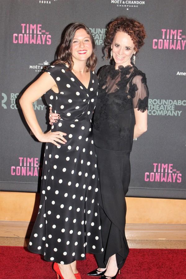 Katie Lindsay and Rebecca Taichman