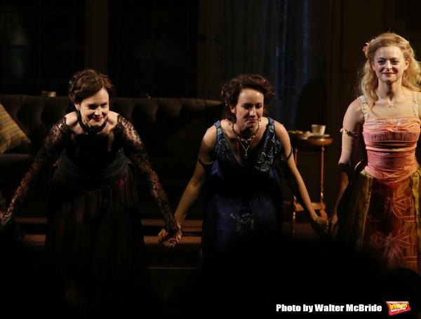 Elizabeth McGovern, Anna Camp and Anna Baryshnikov