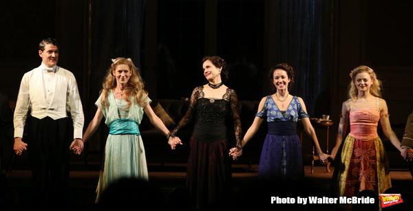 Gabriel Ebert, Charlotte Parry, Elizabeth McGovern, Anna Camp and Anna Baryshnikov Photo