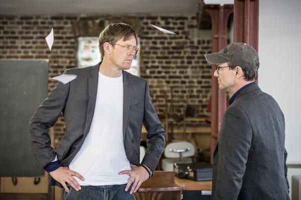 Kris Marshall and Christian Slater