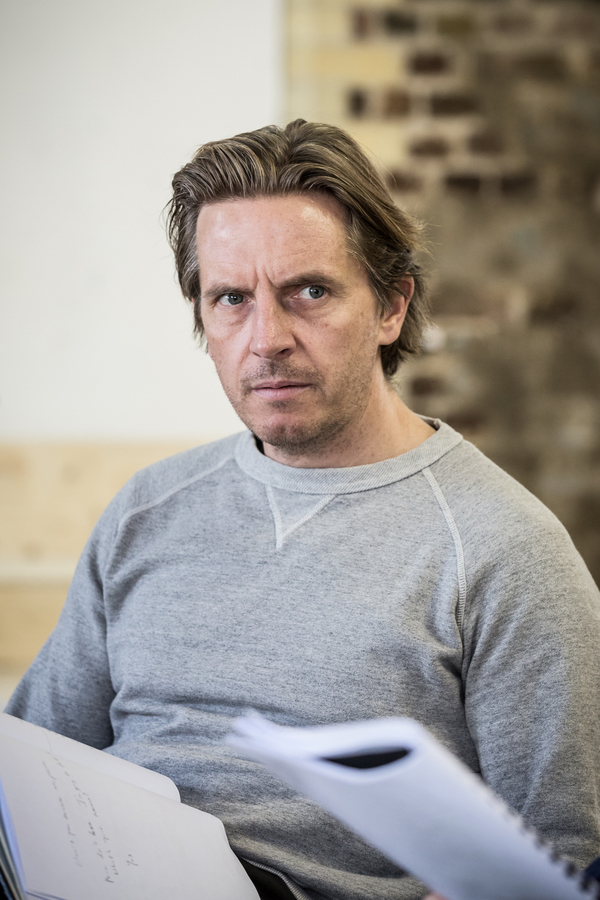 Photo Flash: In Rehearsals with Christian Slater, Robert Glenister, and More in GLENGARRY GLEN ROSS
