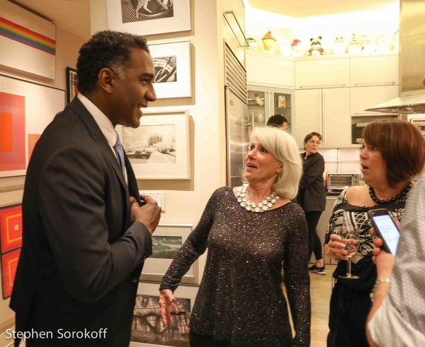 Norm Lewis, Jamie deRoy, Sandra McFarland Photo