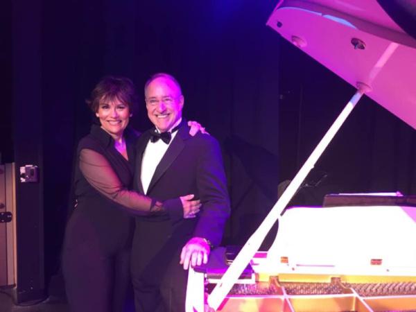 Valerie Lemon with  Phil Hall