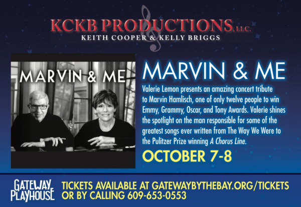 The Gateway Playhouse celebrated 2 full houses during Marvin & Me this past weekend. starring Valerie Lemon.