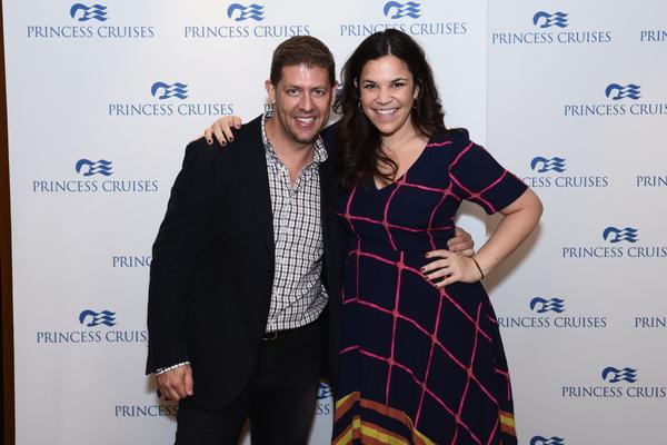 Daniel C. Levine and Lindsay Mendez